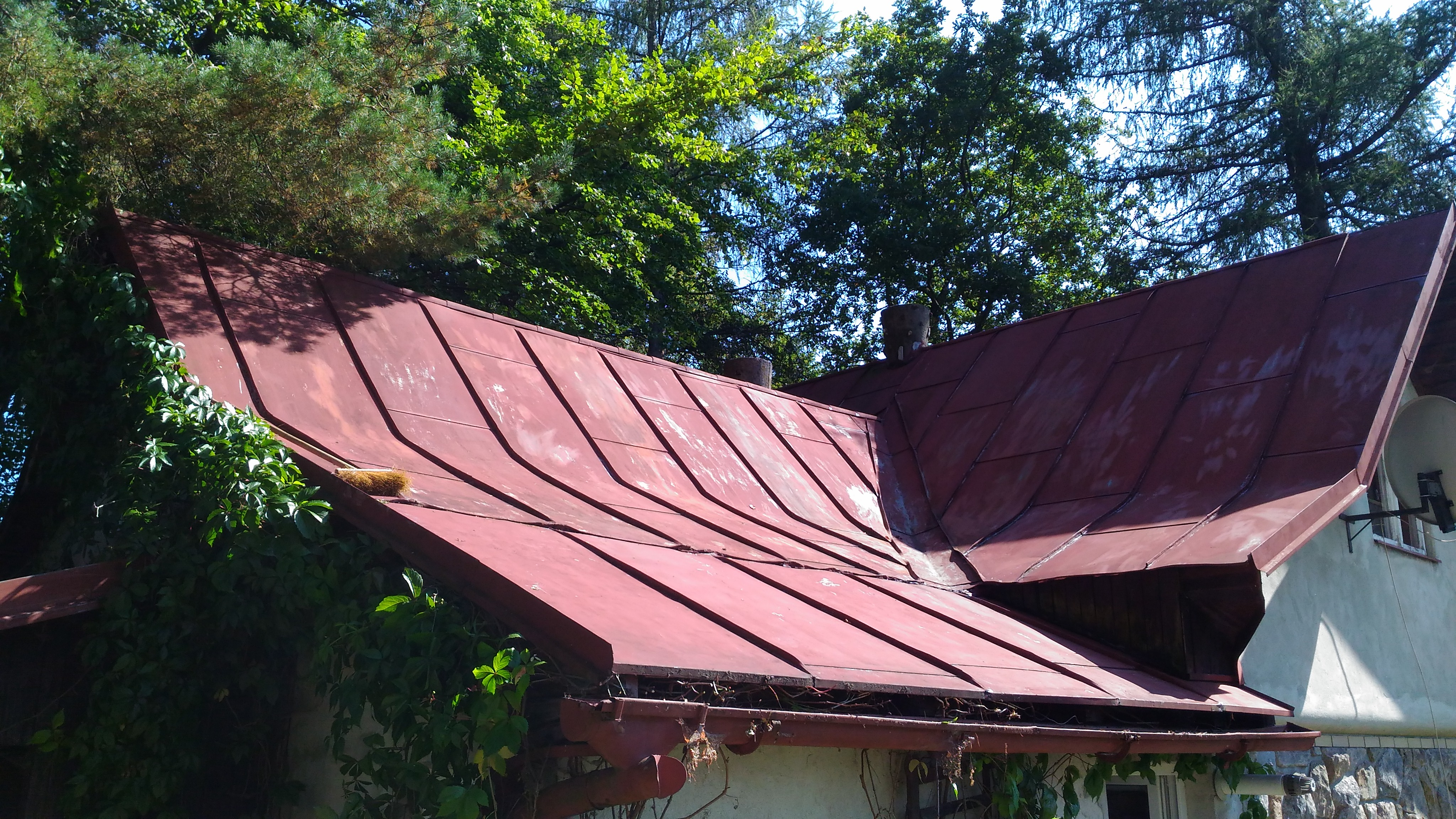Natírání střech